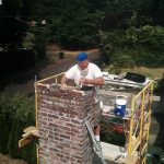 Chimney repair-rebuild