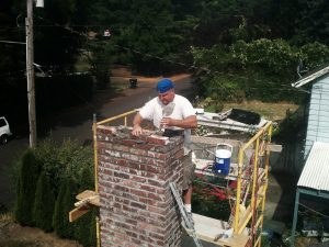 Chimney repair-rebuild